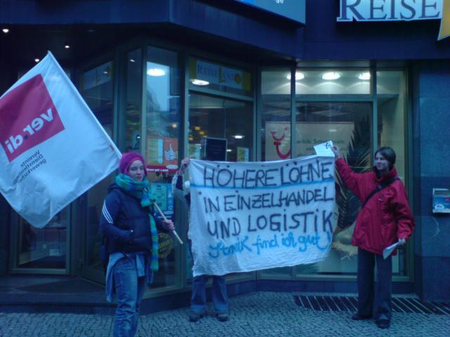 "Solidarität in Berlin bei ""Reiseland"""