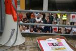 Kundgebung in Magdeburg