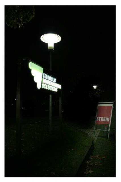 Streik Stillleben #1